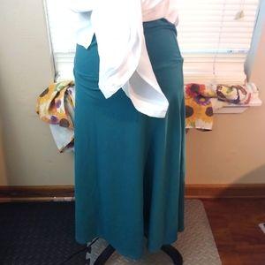 4/$20 Alpine design Waist high pencil skirt blue